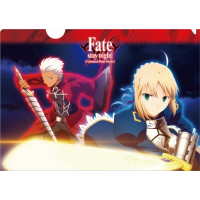 Fate/stay night クリアファイル A:セイバー&アーチャー
