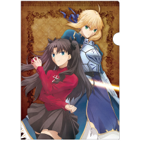 Fate/stay night [Unlimited Blade Works] クリアファイル B:凛&セイバー