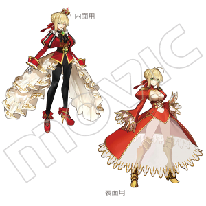 Fate/EXTELLA ポケット付クリアファイル A