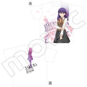 劇場版「Fate/stay night[Heaven's Feel]」 フルグラフィックTシャツ 桜