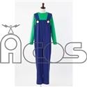 スーパーマリオ  ルイージの衣装 レディースフリー