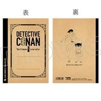 劇場版 名探偵コナン から紅の恋歌 クラフト表紙ノート