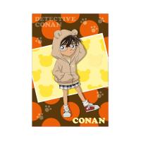 名探偵コナン  ぷっくりポストカード コナン(アニマルパーカー)