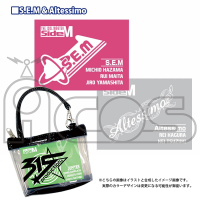 THE IDOL M@STER SideM  クリアバッグチャーム C.S.E.M&Altessimo