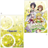THE IDOLM@STER クリアファイル 美希、雪歩、真、貴音