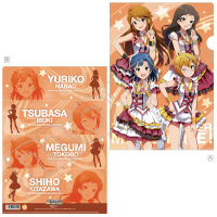 THE IDOLM@STER MILLION LIVE! クリアファイル 翼、志保、百合子、恵美