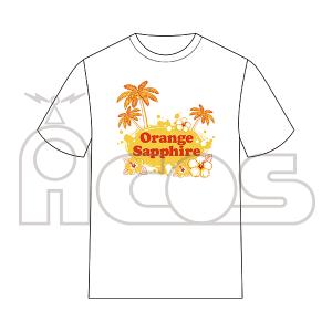 THE IDOL M@STER シンデレラガールズ(モバイル版) Tシャツ Orange Sapphire