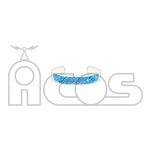 アイドルマスター シンデレラガールズ(モバイル版) アクリルバングル NationBlue