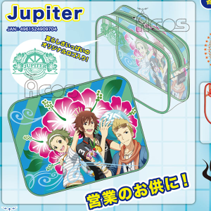 THE IDOL M@STER SideM クリアポーチ/Jupiter