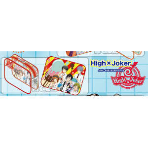 THE IDOL M@STER SideM クリアポーチ/High×Joker