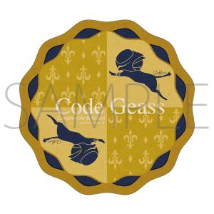 コードギアス 反逆のルルーシュ展 ダイカットステッカー 7