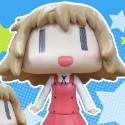 ひだまりスケッチ アニメ版×☆☆☆ ゆの ソフビ完成品フィギュア