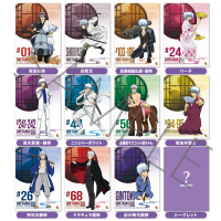 銀魂 銀時12変化ミニクリアポスターコレクション