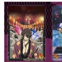銀魂 クリアポストカード4枚セット/C 高杉、坂本