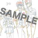 銀魂 ポストカード D:3Z鬼兵隊/ED「サヨナラの空」
