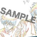 銀魂 ポストカード E:3Z銀八&新八/ED「サヨナラの空」