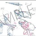 銀魂 「劇場版銀魂 完結篇 万事屋よ永遠なれ」 第2弾原画クリアファイル C沖田・神楽