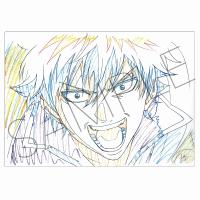銀魂 アニメ原画クリアファイル A:銀時
