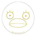 銀魂 丸型ミラー/B エリザベス
