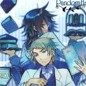 PandoraHearts ミニメタルポスター B.エリオット&リーオ