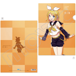 初音ミクシリーズ クリアファイル/E:依存ver.リン