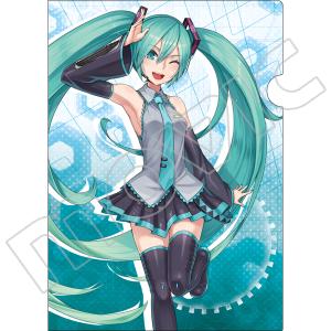 初音ミクシリーズ クリアファイル Nidy-2D- ver.