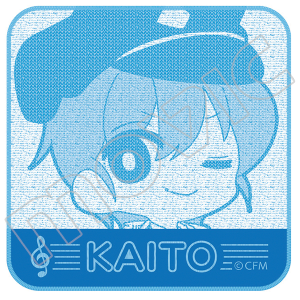 初音ミクシリーズ ジャガードミニタオル/KAITO(MaMi ver.)