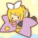初音ミクシリーズ ラバーマグネット/リン