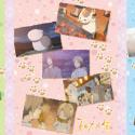 夏目友人帳 グリーティングカード/B ピンク