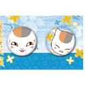 夏目友人帳 缶バッジセット/A ニャンコ先生