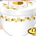 夏目友人帳 ニャンコ先生 フタ付きマグカップ