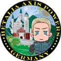 銀幕ヘタリア Axis Powers Paint it White(白くぬれ!) ステッカー(ドイツ)