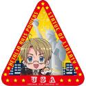 銀幕ヘタリア Axis Powers Paint it White(白くぬれ!) ステッカー(アメリカ)