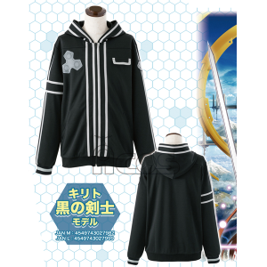 ソードアート・オンライン イメージパーカー キリト 黒の剣士モデル M
