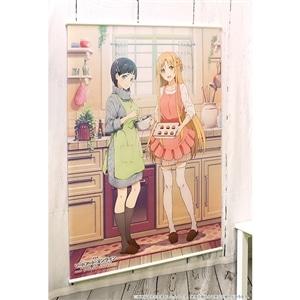 劇場版 ソードアート・オンライン -オーディナル・スケール- ビッグタペストリー 明日奈&直葉