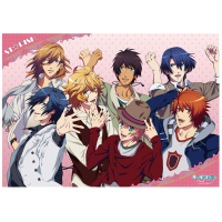 うたの☆プリンスさまっ♪マジLOVE2000% ミニクリアポスター A:ST☆RISH