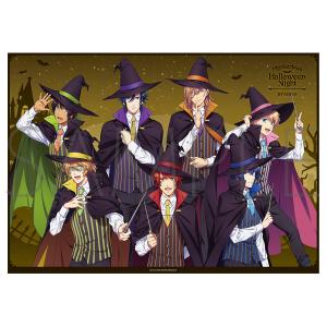 うたの☆プリンスさまっ♪ マジLOVEキングダム ミニクリアポスター ST☆RISH Mysterious Halloween Night