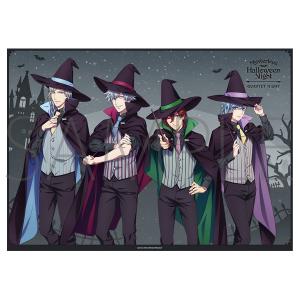 うたの☆プリンスさまっ♪ マジLOVEキングダム ミニクリアポスター QUARTET NIGHT Mysterious Halloween Night