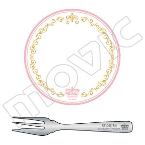 うたの☆プリンスさまっ♪ マジLOVEレボリューションズ 食器セット〜皿&フォーク〜 A:ST☆RISH