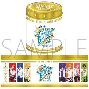 うたの☆プリンスさまっ♪ マジLOVELIVE 6th STAGE 缶入りクッキー ST☆RISH Ver.