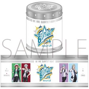 うたの☆プリンスさまっ♪ マジLOVELIVE 6th STAGE 缶入りクッキー QUARTET NIGHT Ver.