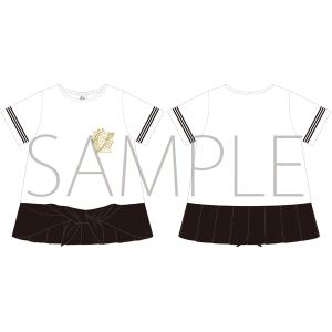 うたの☆プリンスさまっ♪ マジLOVELIVE 6th STAGE Tシャツ WHITE/LADEIS S 【受注生産】