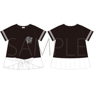 うたの☆プリンスさまっ♪ マジLOVELIVE 6th STAGE Tシャツ BLACK/LADEIS M 【受注生産】