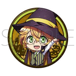 うたの☆プリンスさまっ♪ マジLOVEキングダム キラキラ缶バッジ 那月 Mysterious Halloween Night