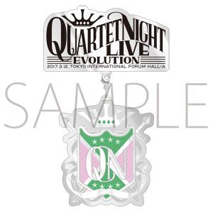 うたの☆プリンスさまっ♪QUARTET NIGHT LIVEエボリューション2017 ブローチ 嶺二