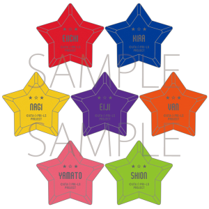 うたの☆プリンスさまっ♪ マジLOVELIVE 6th STAGE トレーディングリングライト RAGING Ver. 【受注生産】