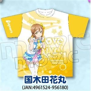 ラブライブ!サンシャイン!! フルグラフィックTシャツ 国木田花丸