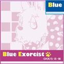 青の祓魔師 ミニタオル/B メフィスト犬