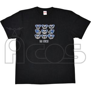 青の祓魔師 京都不浄王篇 クロの百面相Tシャツ