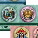 青の祓魔師 缶バッジ2個セット/B 雪男&メフィスト